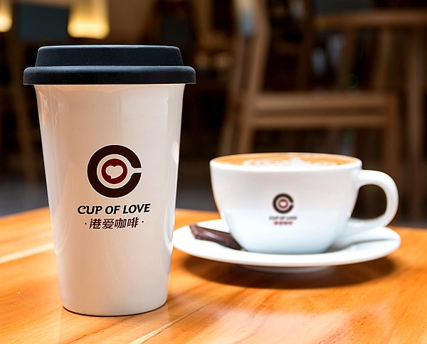 港爱咖啡连锁品牌中国整体形象设计策划