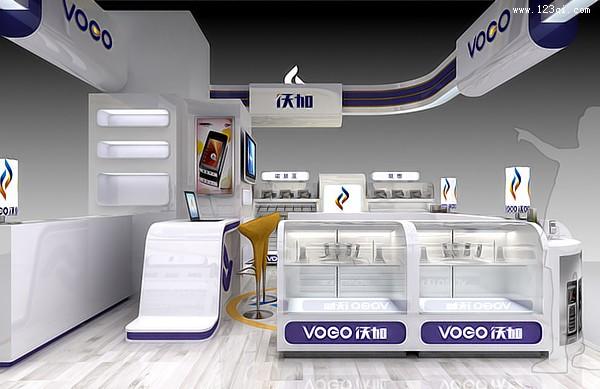 济南终端设计 济南终端形象设计 济南卖场设计方案