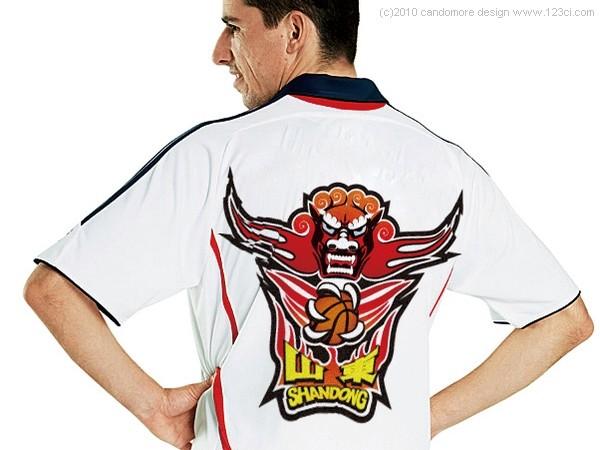 黄金男篮标志,黄金男篮吉祥物,济南赛事设计,易建联