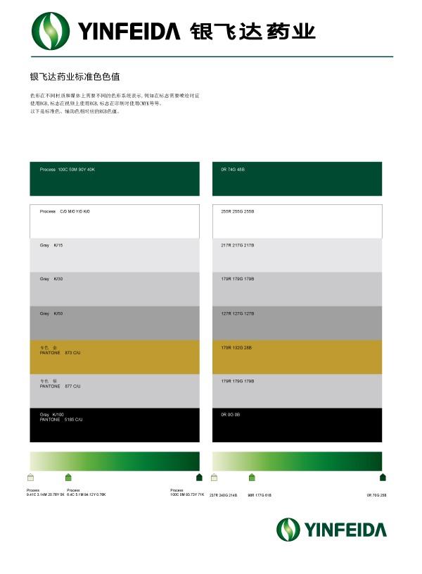 标准色彩设计,化工企业VI,医药企业形象