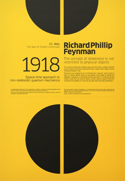 他的海报design非常复古,字体和图形之间的排版形式值得学习参考.