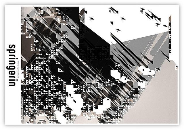 Dextro奥地利艺术家,主要投身于线上互动创作及平面design领域。其平面design作品多以纯点线构成,风格独特而犀利。自1995年起开始网页创作,从其个人网站()中可以窥见其极具逻辑结构的风格,以及点线的灵活应用。