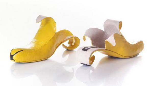 由香蕉形态设计雕塑图片
