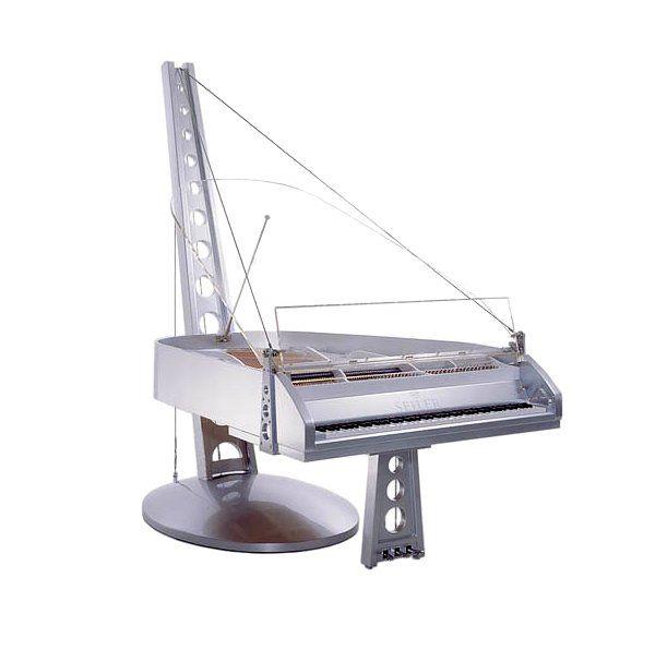 这些钢琴是由著名 设计工作室创建,有时在与仪器制造商串联.