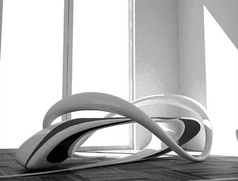 时尚的公共座椅设计_干将莫邪设计公司