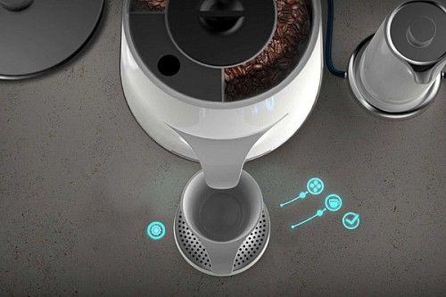 激光,投影,咖啡壺,概念產品,產品設計,創意產品,咖啡,studio mem