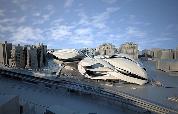 未来的台北表演艺术中心