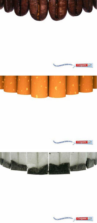 保持牙齿健康-牙膏平面广告设计_干将莫邪设计公司,之