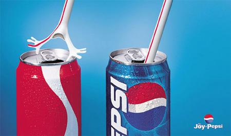 > 祝你百事可乐-百事可乐创意平面广告图片