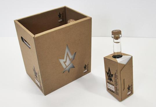 > 『设计新生志』原色纸箱酒包装