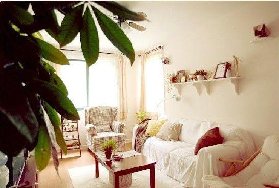 90平米房屋装修图片:整体的色彩还是以浅色为主,很温馨的感觉.图片
