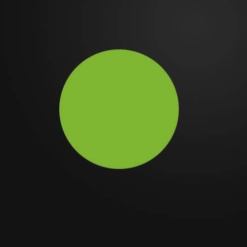 然后在一个新层,画一个圆圈