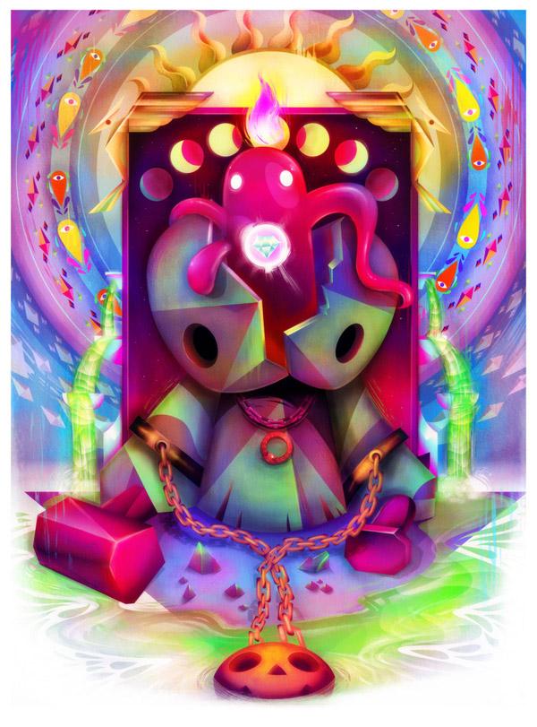 艺术,插画师,Carlos Lerms,创意,灵感,创意设计,时尚,插画