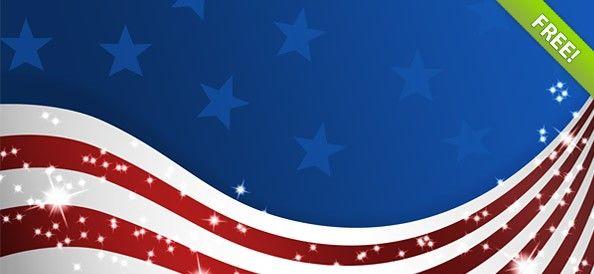 美国国旗psd素材下载_干将莫邪设计公司,创意盈利之美