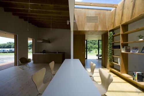 私人住宅设计; 关键词:住宅,studio synapse,自然要素,木材装饰