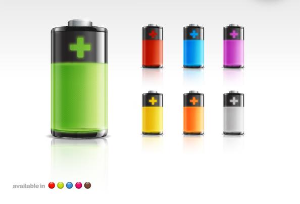蓄电池,电池显卡,电池图标,电池,充电,节能,图形,图标,插图,电力,PSD电池图标