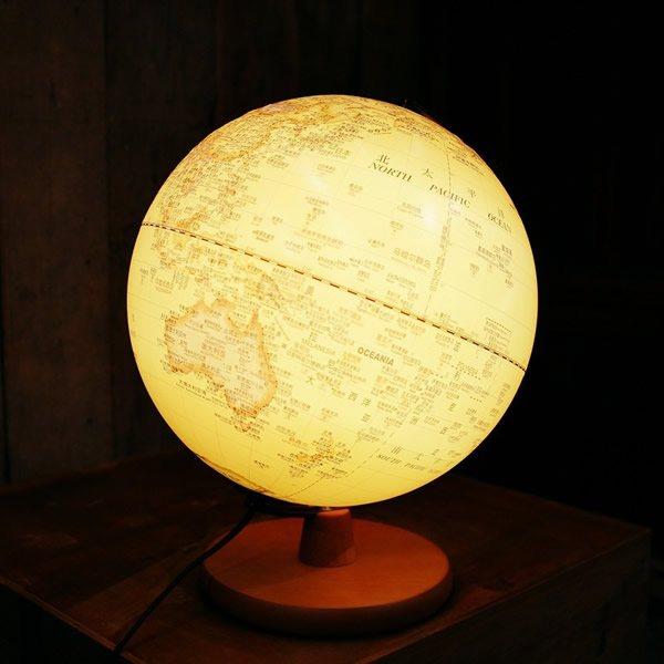 创意,复古,地球仪,台灯,家居,摆件
