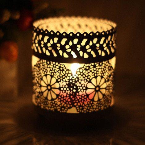 欧式,田园,玻璃杯,蜡烛台,家居,装饰,蜡烛