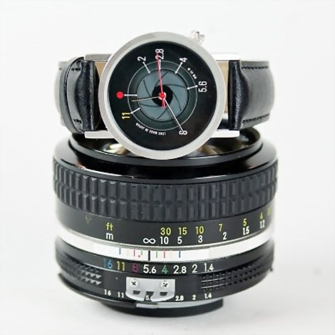 F-Stop Watch,相机,光圈,手表,摄影,恶搞,高科技