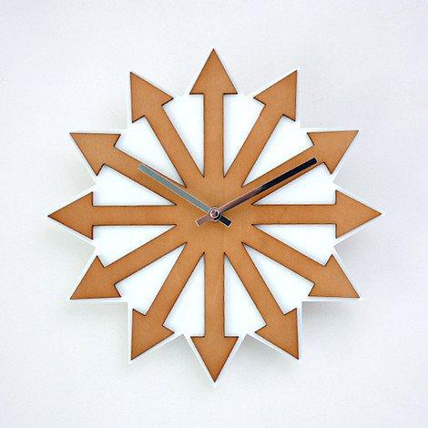 GeekCook,极客库,木质,挂钟,艺术,时钟,特色