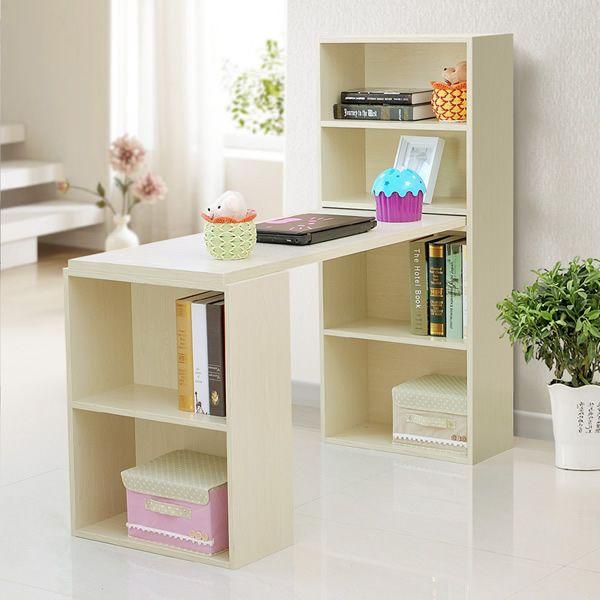 环保台式电脑桌写字桌宜家用书桌书架组合书柜办公书桌子简约,独特的书架+书桌的连体设计,实用、方便,充分利用空间。随取随用的书籍、资料摆放在开放式的书架里,在家办公时,可以减少杂乱无章对您的影响,大大提高工作效率,济南标志设计,保持充沛的创作激情。本店实木专业术语细木工板。灵活的资料收纳方案,让你在家办公像在办公室一样井井有条。键盘托和主机架可以依据您的需要加配。