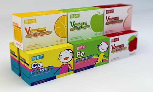 童产品包装_设计案例 产品包装 > 关注儿童健康成长-新稀宝儿童保健品包装设计
